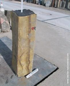 Basalt Säule - Brunnenstein