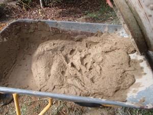 Mörtel Sand