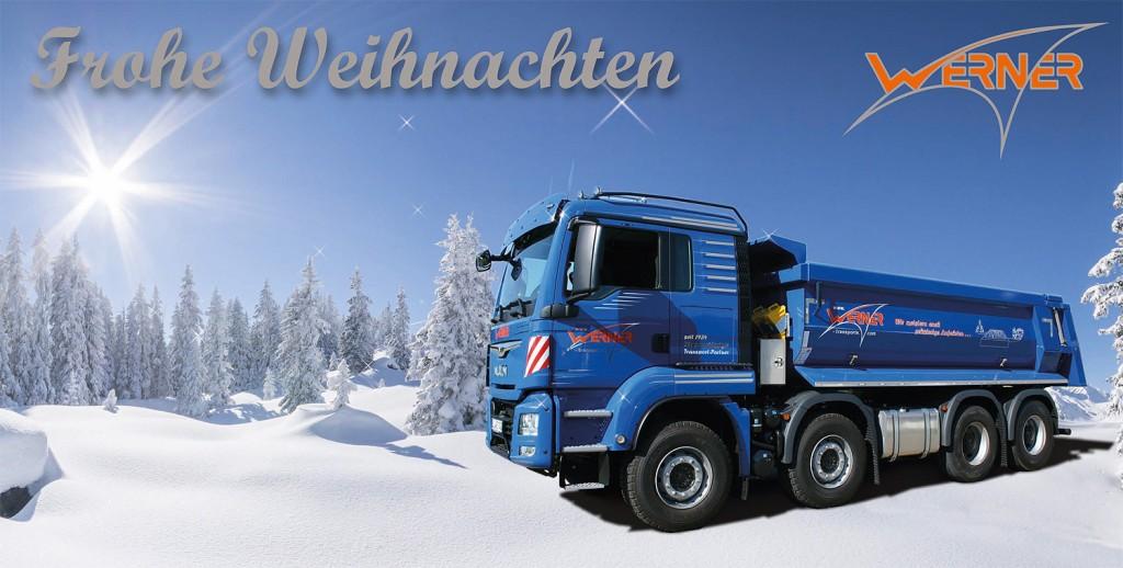 Weihnachten Transporte