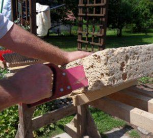 Mauer Bogen bauen
